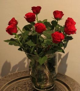 röda rosor HHC